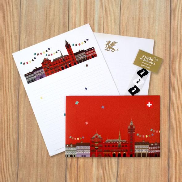 Letter set - Basel City Hall