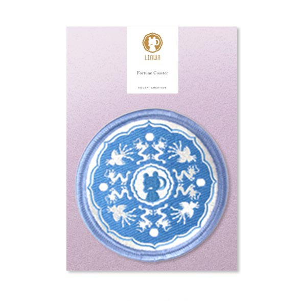 Linwa Fortune Coaster with Message card