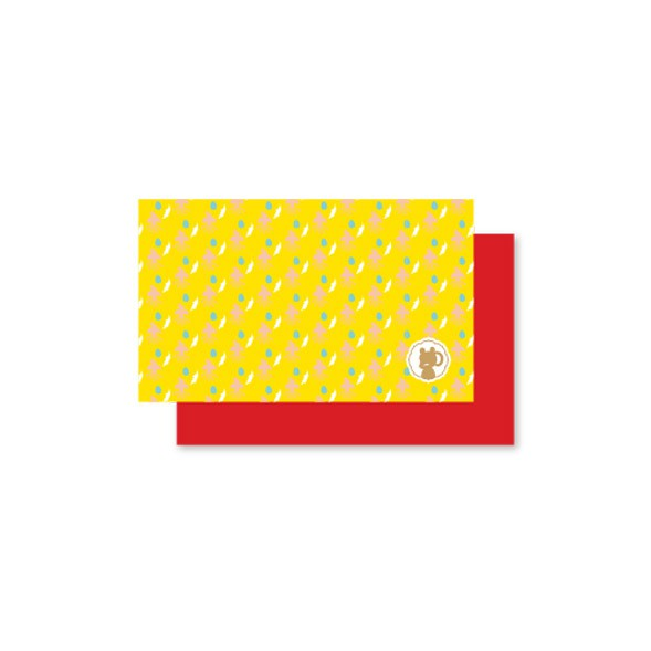 Linwa Fortune Mini Card Phoenix (yellow)