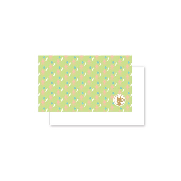 Linwa Fortune Mini Card Phoenix (green)