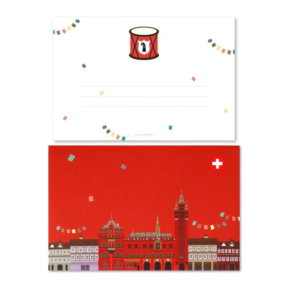 Basel Greeting Card - Carnaval