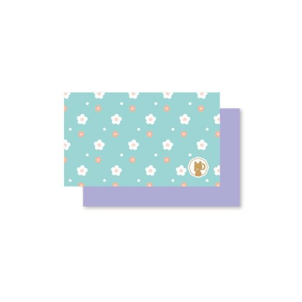 Linwa Fortune MiniCard (peach blue)