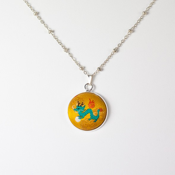 Linwa Fortune Necklace (Dragon)