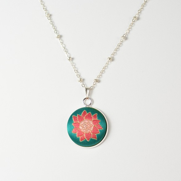 Linwa Fortune Necklace Lotus (Single flower)