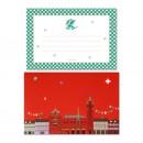 Basel Grusskarte - Basel Basilisk Weihnachten