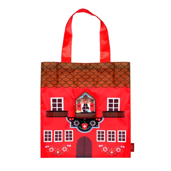 "Ecobag ""Mini Swiss House"""